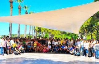 EYSİM Maden, 1 Mayıs'ı Adada Kutladı
