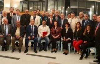 Türkiye Gazeteciler Federasyonu AGC'nin Bölge...