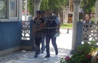 Çine'de, diğer motosiklet hırsızı da tutuklandı