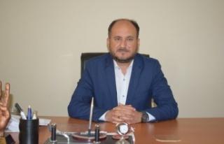 """AK Parti İlçe Başkanı Tosun, """"Hafızayı Beşer..."""