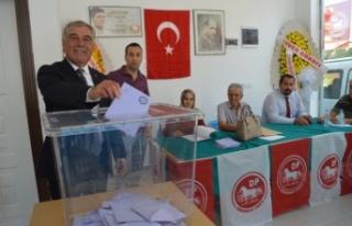 Ahmet Zühtü Soydar, DP Çine İlçe Başkanı seçildi