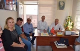 İYİ Parti Vekil Sezgin, Çine Teşkilatını Ziyaret...