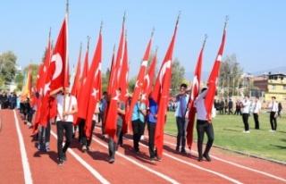 Çine'de 29 Ekim Coşkuyla Kutlandı