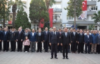 Atatürk, ebediyete intikalinin 81. yılında Çine'de...