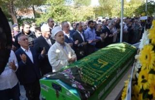 CHP Eski Vekili Öztürk'ün Annesi Toprağa Verildi