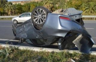 Çine'de Kaza Ucuz Atlatıldı