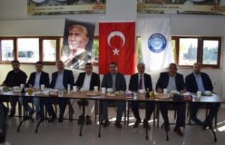 Türk Eğitim-Sen'li Öğretmenler Yemekte Buluştu