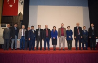 "Çine'de ""Prof. Dr. Fuat Sezgin"" Konulu..."