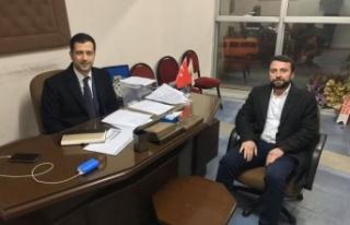 AK Parti Çine İlçe Başkan Adayı Cemal Çakır...