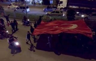Çine'de İdlib Şehitleri İçin Araç Konvoyu...
