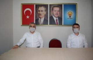 Mustafa Savaş'tan, AK Parti Çine Teşkilatına...