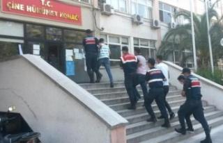 Çine'de 8 kişi yakalandı