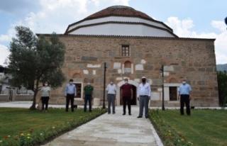 Çine'nin Tarihi Ahmet Gazi Camide Restorasyon
