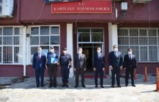 Aydın Valisi Aksoy'dan Karpuzlu ziyareti