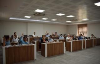 Çine Belediyesi Ağustos ayı meclis toplantısı...