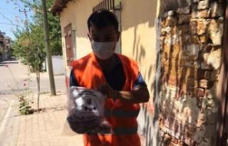 Çine Belediyesi 'Veren elin, alan eli görmediği'...