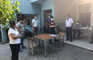 Kırsal Mahallelerde Korona virüs denetimi