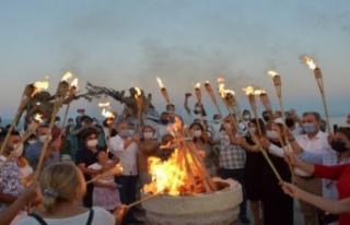 1 Eylül Barış günü Didim'de sembolik olarak...