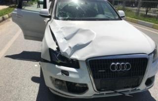 Çine'de trafik kazası; 1 ölü