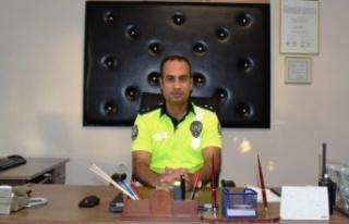 Çine Bölge Trafik'e Komiser Kuyumcu Atandı