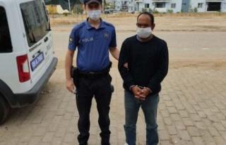 Güvenlik kameralarından tespit edildi, tutuklandı