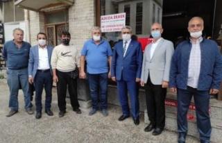 MHP Aydın İl Başkanlığı'ndan 'askıda...