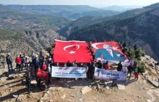 Aydın'da Ata'ya Saygı yürüyüşü yapıldı