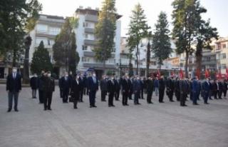 Çine'de 10 Kasım Atatürk'ü Anma Töreni...