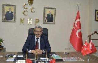 MHP İl Başkanı Alıcık, öğretmenler gününü...