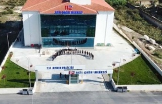 Aydın'da, 112 Acil Çağrı Merkezi hizmete...
