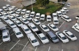 İl Tarım Müdürlüğü'ne 54 araç tahsis...