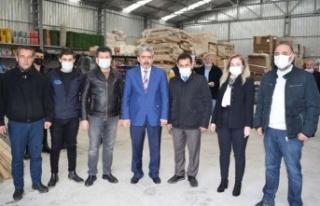 MHP Aydın İl Teşkilatı Çine'de Ziyaretlerde...