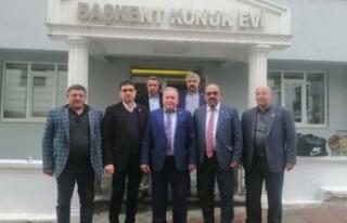 Başkent Köy ve Mahalli İdareleri Muhtarlar Derneğinde...