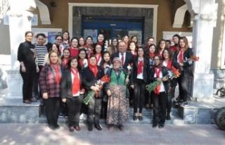Belediye'den 8 Mart'ta kadın personele izin