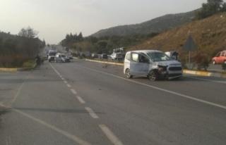 Çine'de trafik kazası; 4 yaralı