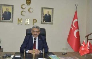 MHP İl Başkanı Alıcık'tan 'Miraç Kandili'...