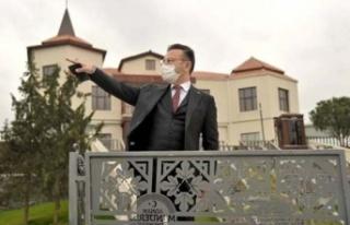 Vali Aksoy, Adnan Menderes Müzesi'nde incelemelerde...