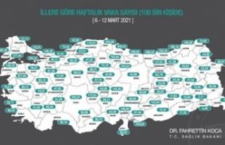 "Vali Aksoy; ""Aydın'da pozitif vaka sayısında..."