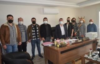 AK Parti Çine Teşkilatı, avukatları ziyaret etti