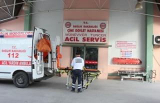 Çine'de bir kişi darp edilerek hastane önüne...