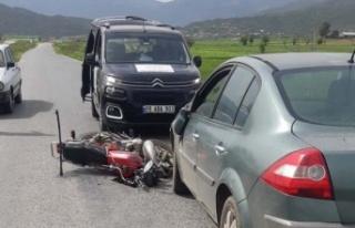 Çine'de kaza: 1 kişi yaralı