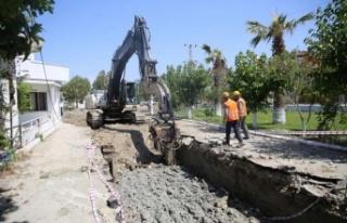 ASKİ'den Davutlar-Güzelçamlı Kanalizasyon...