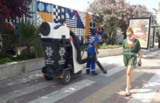 Aydın Büyükşehir Belediyesi'nin bayram mesaisi...