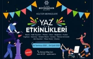 Aydın Büyükşehir Belediyesi'nin Yaz Etkinlikleri...