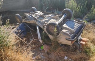 Çine'de kaza 4 kişi yaralandı