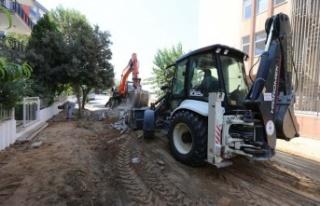 Efeler Belediyesi Yolları Yeniliyor, Kent Modernleşiyor