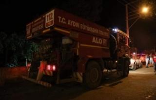 Akçaova yangın söndürme çalışmaları devam...