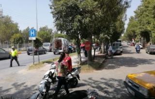 Çine'de trafik kazası, 1 yaralı