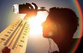 Sıcaklık rekoru kırıldı