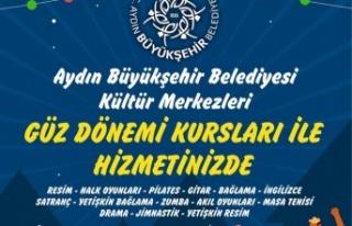 Aydın Büyükşehir Belediyesi'nin Güz Dönemi...